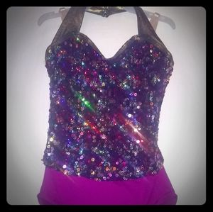 Other - Girls Dance Outfit Costume - Good Used Cond